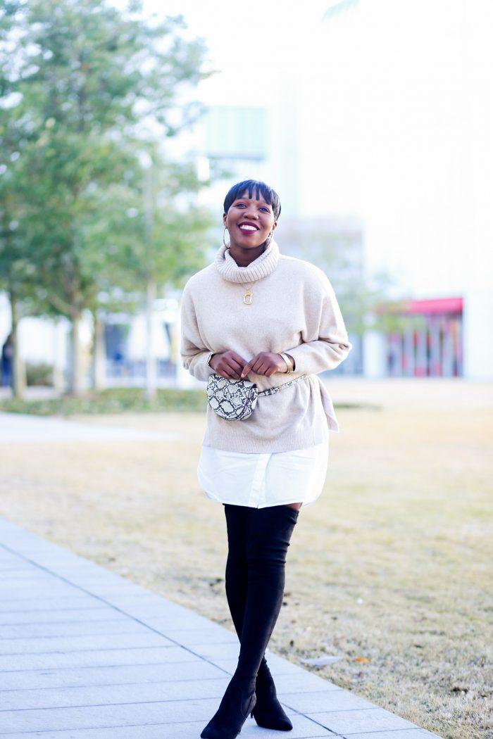 The Winter Sweater…With A Twist